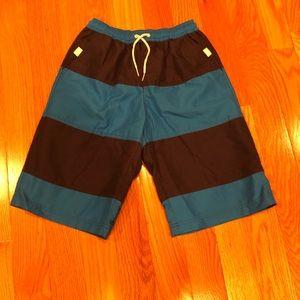 Boys Hanna Andersson size 150 (12) swim trunks